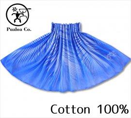 ボーゾー パウスカート パームリーフ ブルー(Cotton100%)
