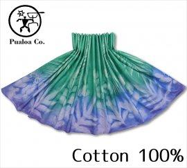 ボーゾー パウスカート パームリーフ-ラウアエ-バイビー GR-BL(Cotton100%)