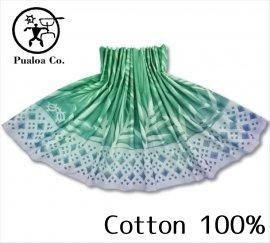 ボーゾー パウスカート タパ-パームリーフ-ラウアエ GR(Cotton100%)