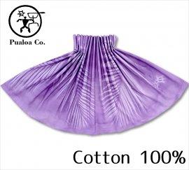 ボーゾー パウスカート パームリーフ パープル(Cotton100%)