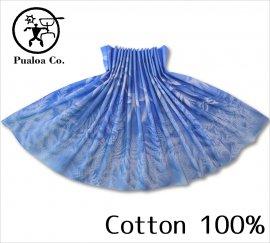 ボーゾー パウスカート ファーン-ラウアエ ブルー(Cotton100%)
