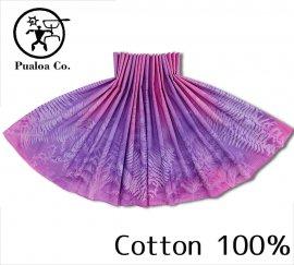 ボーゾー パウスカート ファーン レッド-パープル(Cotton100%)