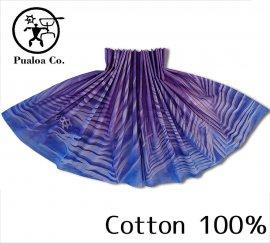 ボーゾー パウスカート パームリーフ パープル-ブルー(Cotton100%)