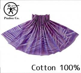 ボーゾー パウスカート パームリーフ ダークパープル(Cotton100%)