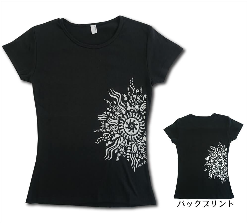 オリジナルTシャツ ラー・リノ ブラック−ライトグレー