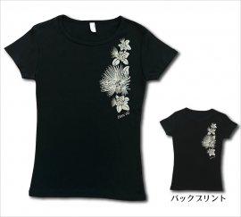 オリジナルTシャツ レフア ブラック-ブラウングレー