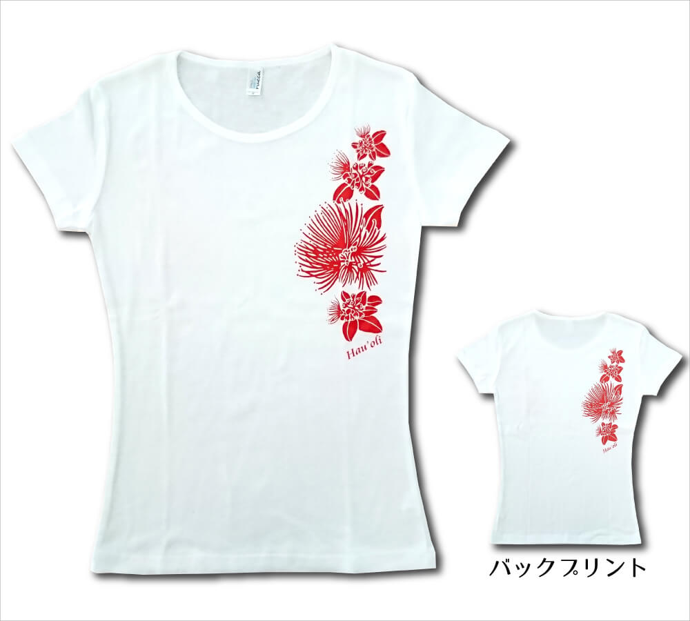 オリジナルTシャツ レフア ホワイト-レッド