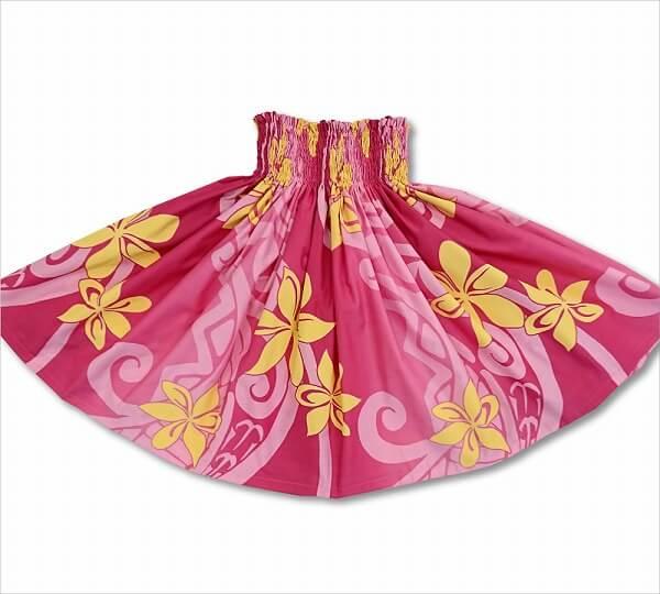 ベーシック パウスカート プルメリア ピンク