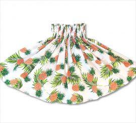 ベーシック パウスカート パイナップル ホワイト