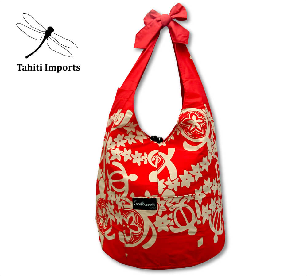 タヒチインポーツ フラバッグ